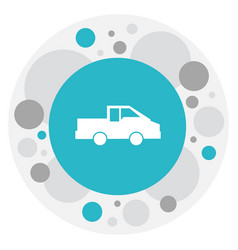 Of transportation symbol on vector