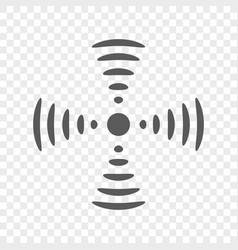 Radio wireless and wifi icon symbol and vector