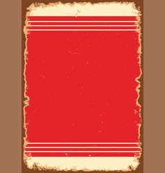 Vintage old blank background vector