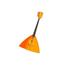 Balalaika stringed music instrument vector