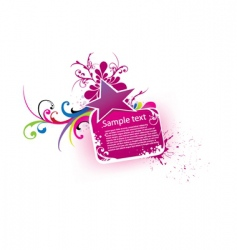 beautiful banner vector image vector image