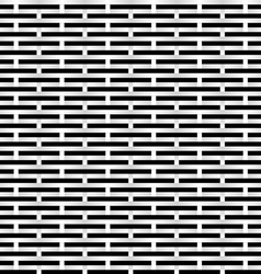 black and white grid vector image vector image