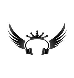 King DJ vector image vector image