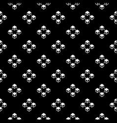 blockchain dark seamless pattern or texture vector image vector image