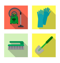Cleaning and service sign vector