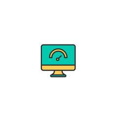 computer icon design marketing icon design vector image