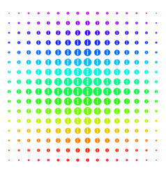 Info shape halftone spectral grid vector