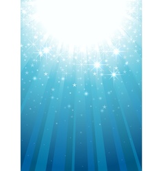 Magic Light Rays vector image