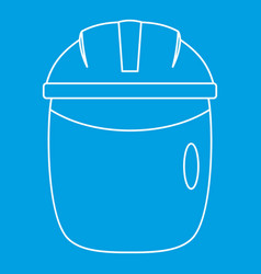 Welding apron icon outline vector