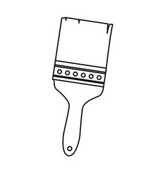 brush painter tool icon vector image vector image