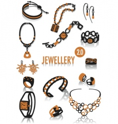 jeweler silhouettes vector image vector image