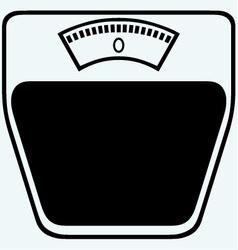 Icon scales vector image vector image
