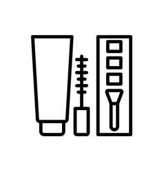 Cosmetic icon makeup icon vector