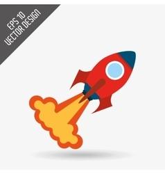 start-up icon design vector image