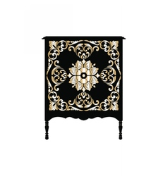 Vintage Baroque furniture vector image vector image