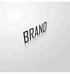 Brand name background vector image vector image