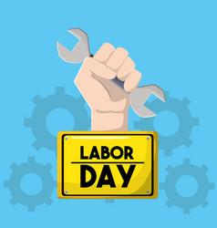 american labor day tradition celebration vector image