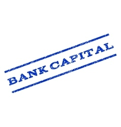 Bank Capital Watermark Stamp vector