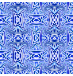Blue seamless abstract psychedelic swirl stripe vector