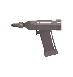 Orthopedic drill medical equipment cartoon vector