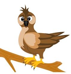 Sparrow on branch vector