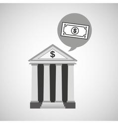 bank concept safe money icon vector image