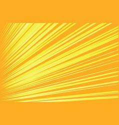 Orange rays pop art comic background vector