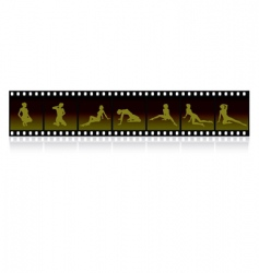 film strip images vector image vector image