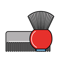 barber shop related vector image