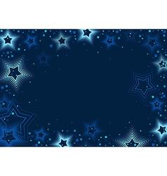 Blue Stars Background vector