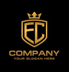 ec logo vector image