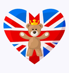 English Teddy Bear vector image