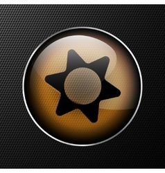 icon gears background vector image vector image