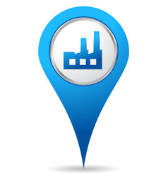 industry location icon vector image