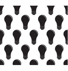 light bulb seamless vector image