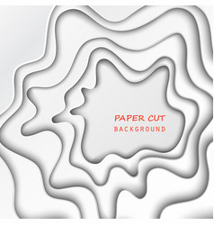 paper cut background vector image
