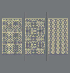 seamless pattern for decorative panels vector image