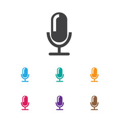 Song symbol on journalism vector