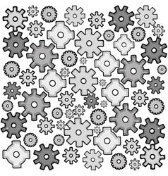 gear cartoon icon image vector image