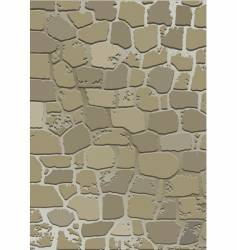 stone wall texture vector image vector image