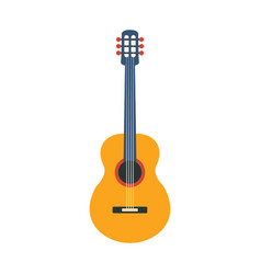 acoustic guitar part of musical instruments set vector image