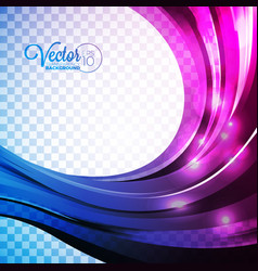abstract background with violet waves vector image