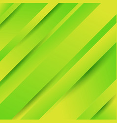 abstract geometric diagonal green background vector image