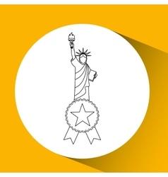 new york city design vector image vector image