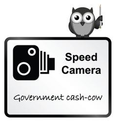 Speed camera vector