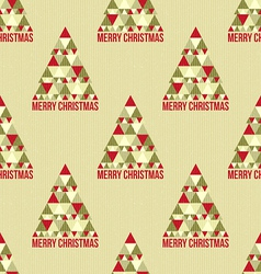 Christmas seamless vintage pattern vector image vector image
