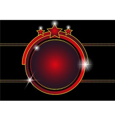 Entertainment frame background vector image
