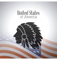 United states patriotism design vector