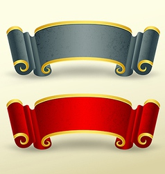 Banners collections chinese style vector image vector image
