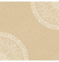 Beige background with napkin vector